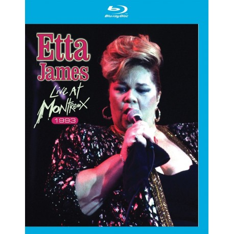 Etta James - Live At Montreux 1975-1993 - Blu-ray