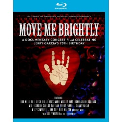 Jerry Garcia (Tribute) - Move Me Brightly - Blu-ray