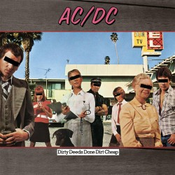 AC/DC - Dirty Deeds Done Dirt Cheap - Vinyl LP
