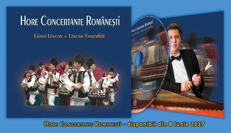 Giani Lincan / Lincan Ensemble - Hore Concertante Româneşti