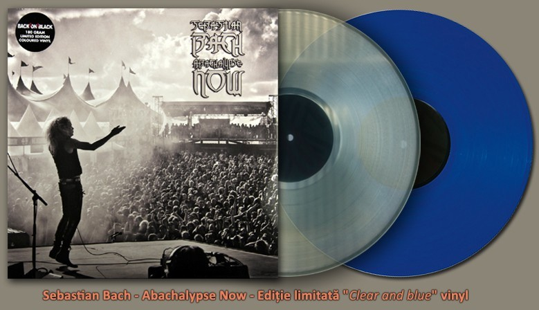"Sebastian Bach - Abachalypse Now - Ediţie limitată ""Clear and blue"" vinyl"