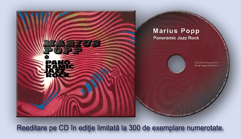 Marius Popp - Panoramic Jazz Rock - CD editie limitata