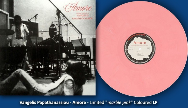 "Vangelis Papathanassiou - Amore - Limited ""marble pink"" Coloured LP"