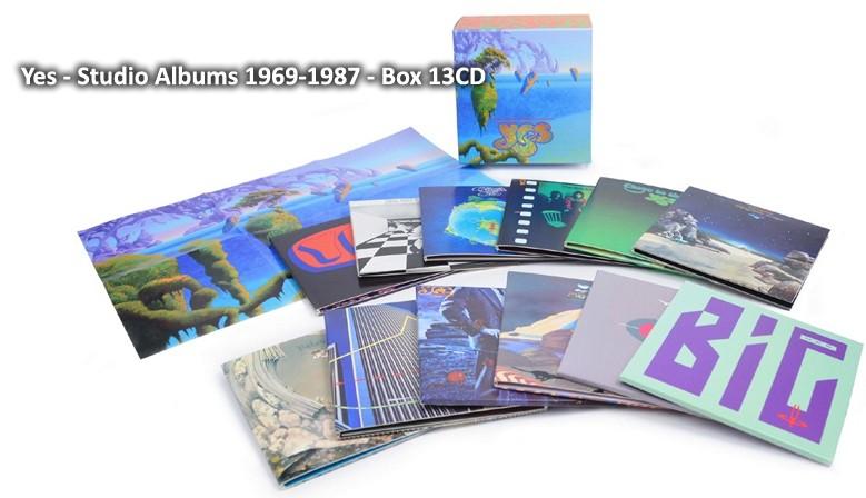 Yes - Studio Albums 1969-1987
